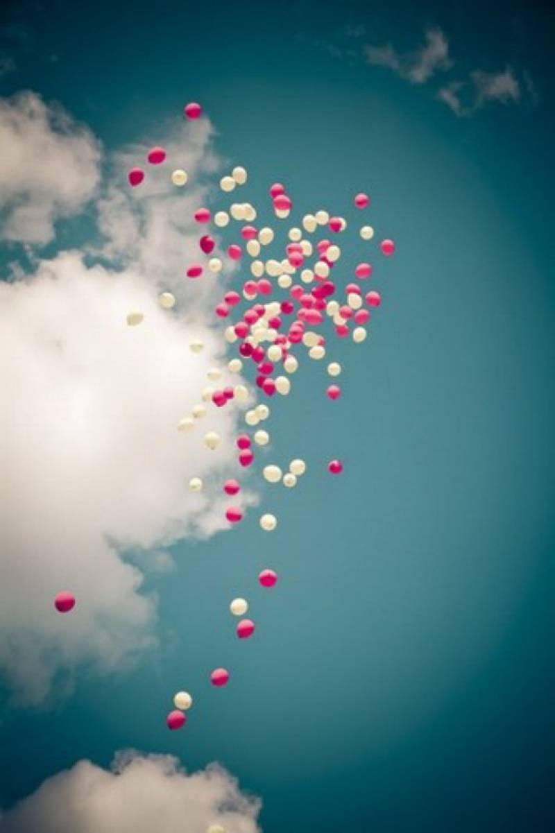 lach de ballons - Lacher De Ballon Mariage