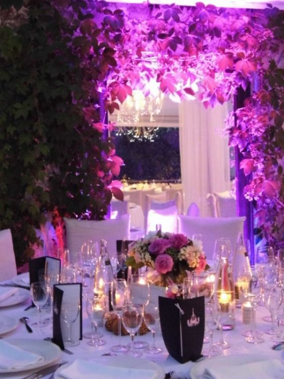 Location du mobilier et de la vaisselle pour mariage monaco organisateur - Decoration pour reception ...